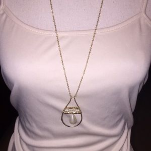 NWT! Canvas Necklace